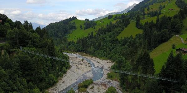 Hängebrücke Hohstalde