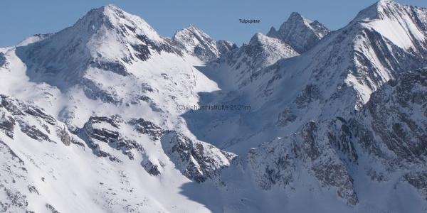 Zopetspitze von Westen