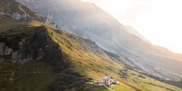 Schesaplanahütte oberhalb Seewis