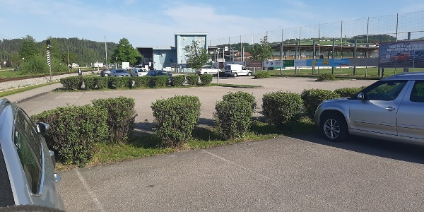 Parkplatz Sportplatz Walding