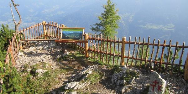 Panoramablick in die Hohen Tauern am Grenzstein, Hochstadelalm