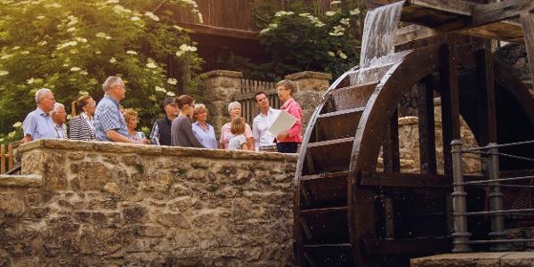 Mühlenpforte in der Bad Driburger Innenstadt
