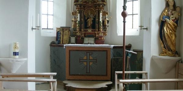 Lech, Expositurkirche Heiliger Martin 1