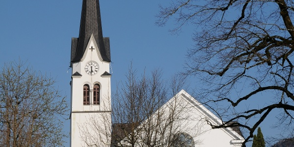Lingenau, Katholische Pfarrkirche Heiliger Johannes der Täufer
