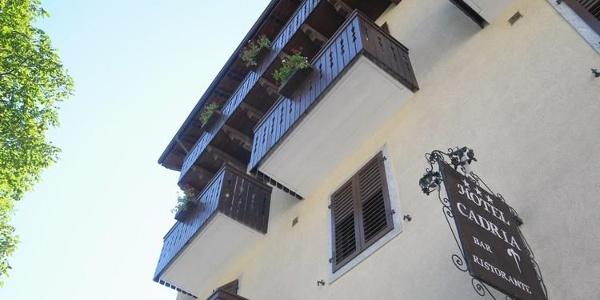 Hotel Cadria - Lenzumo - Valle di Ledro