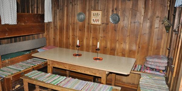 Waxensteinhütte - Innenraum