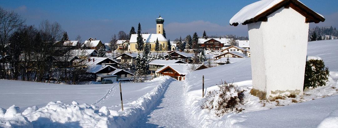 Winterwanderweg Oberreute