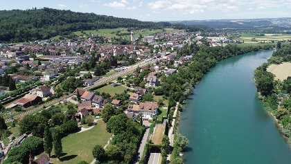 Luftaufnahme Bad Zurzach