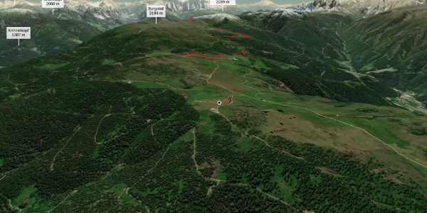 Mountainbike-tour im Eisacktal/Südtirol: Transalp 2021_Tag 3_12.07. ...