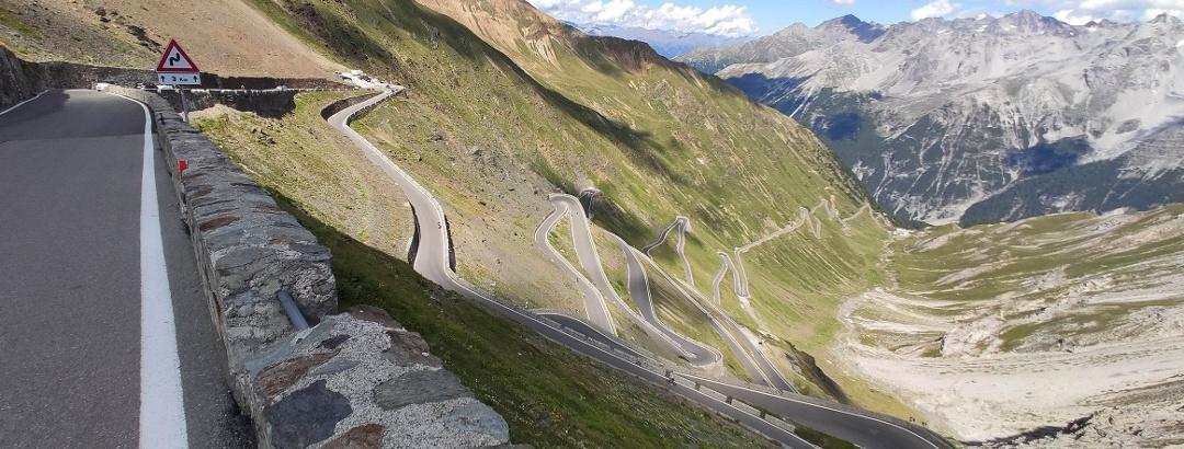 Stilfser Joch in den Ortler-Alpen / Südtirol