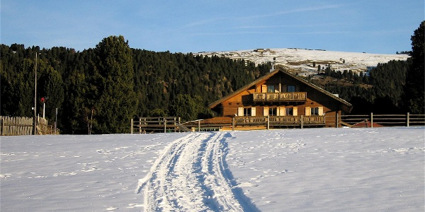 Alpe di Villandro Winter