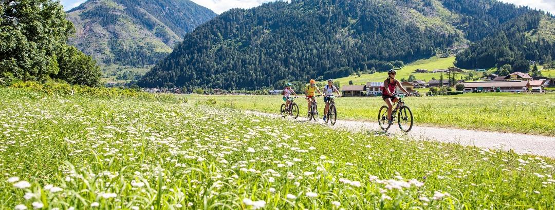 Cycling in Val di Fiemme