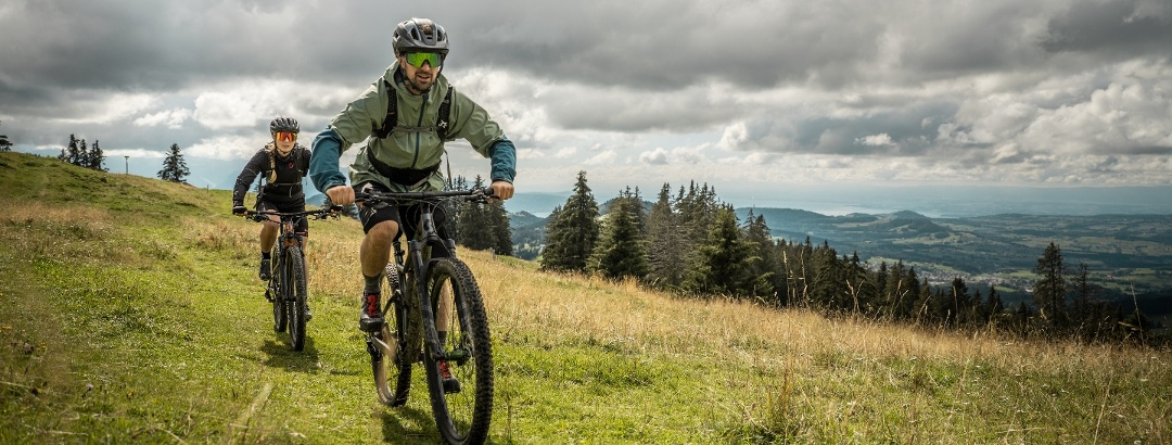 Mountainbike-Trail Les Paccots