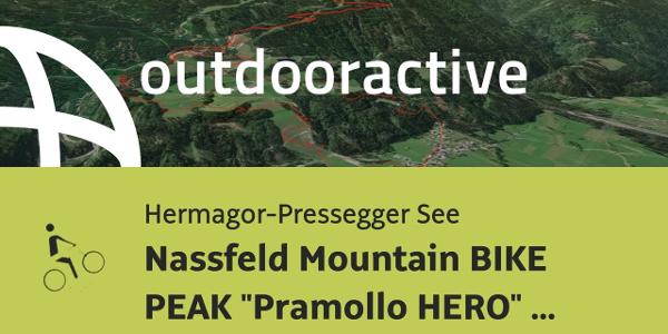 Mountainbike-tour in Hermagor-Pressegger See: Nassfeld Mountain BIKE PEAK ...