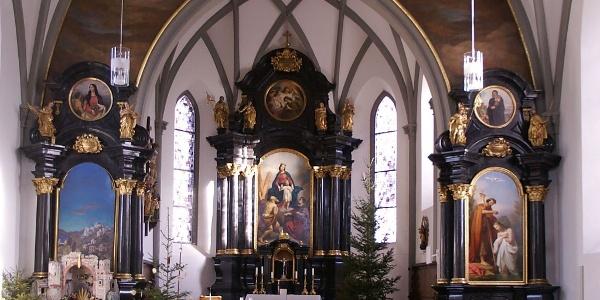 Bludenz, Katholische Pfarrkirche Heiliger Laurentius 2