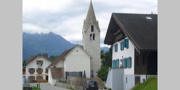 Bludesch, Katholische Filialkirche Heiliger Nikolaus in Zitz 1