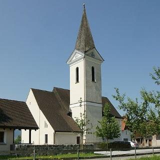 Düns, Katholische Pfarrkirche Heiliger Antonius Abt