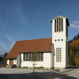 Lorüns, Katholische Pfarrkirche Heiliger Johannes Nepomuk