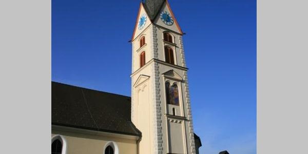 Nenzing, Katholische Pfarrkirche Heiliger Mauritius und Friedhof 1