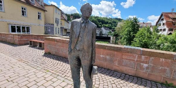 Hermann Hesse Statue