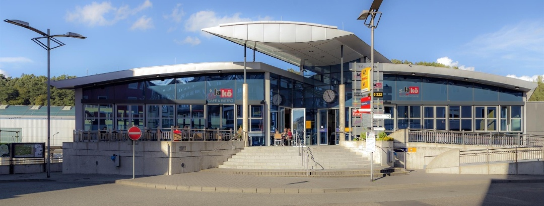 Regiobahnhof Haupteingang