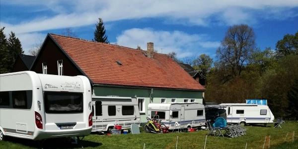 Wohnmobil- und Caravanstellplatz am Hofladen Grünheide