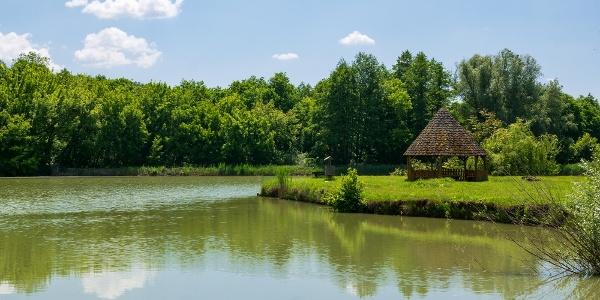 A Sas-réti sziget pavilonja