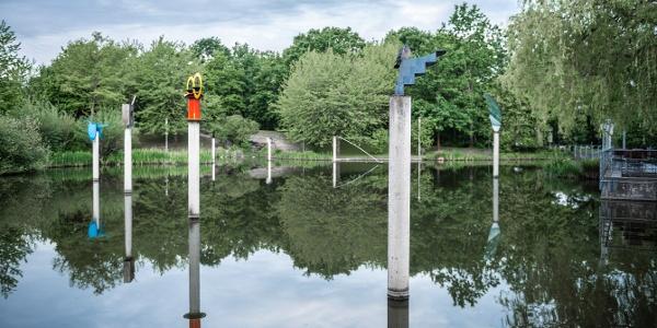 Kunst im öffentlichen Raum - Zentrum Kaarst im Rhein-Kreis Neuss