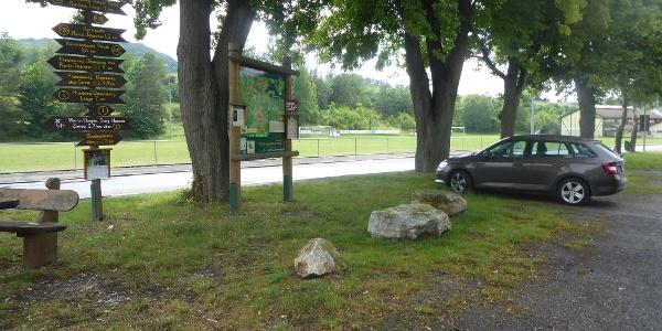Parkplatz Am Sportplatz