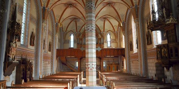 Silbertal, Katholische Pfarrkirche Heilige Josef und Nikolaus mit Friedhof 4