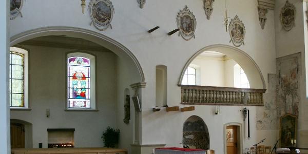 Tschagguns, Katholische Pfarrkirche Unserer Liebe Frau Mariä Geburt mit Friedhof 5