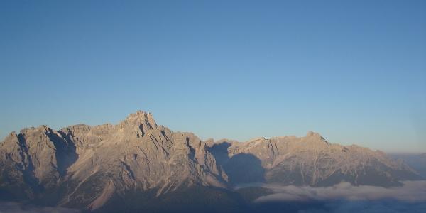 Morgen in den Sextener Dolomiten