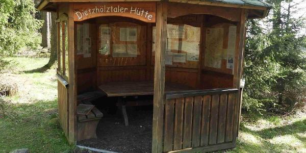 informativer Pavillion am Jagdberg