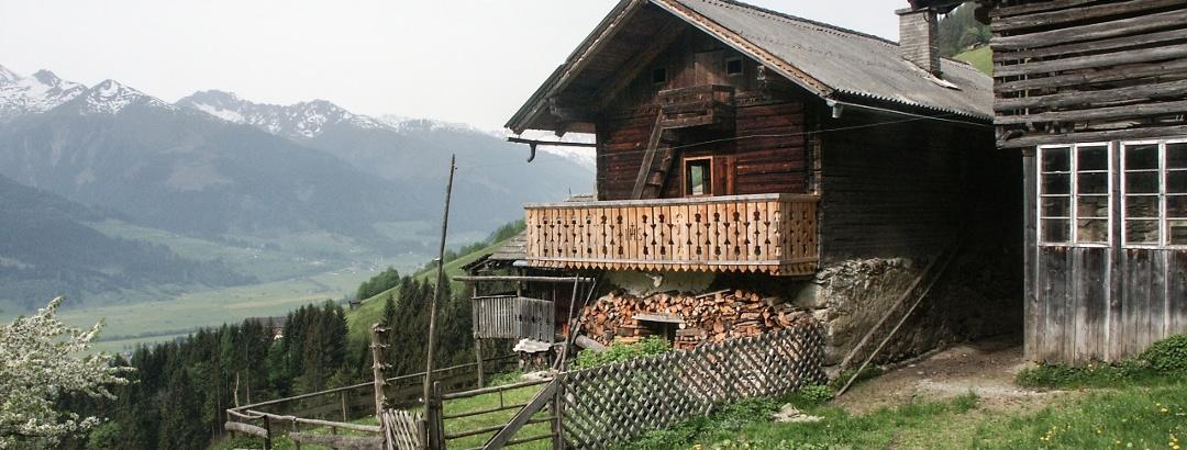 Traditionelle Gebäude in Friedensbachreith
