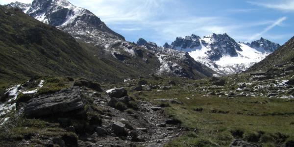 Aufstieg über das Bieltal