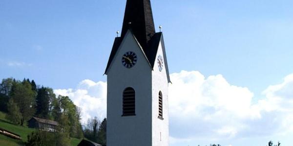 Riefensberg, Katholische Pfarrkirche Heiliger Leonhard 2