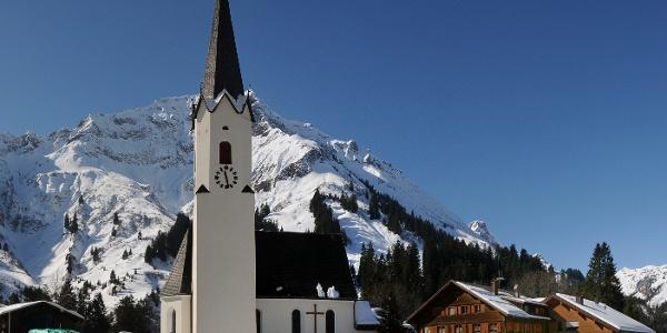 Schröcken, Katholische Pfarrkirche Unsere Liebe Frau Mariä Himmelfahrt
