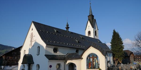 Schwarzenberg, Katholische Pfarrkirche Heiligste Dreifaltigkeit