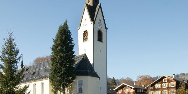 Schwarzenberg, Katholische Pfarrkirche Heiligste Dreifaltigkeit 2