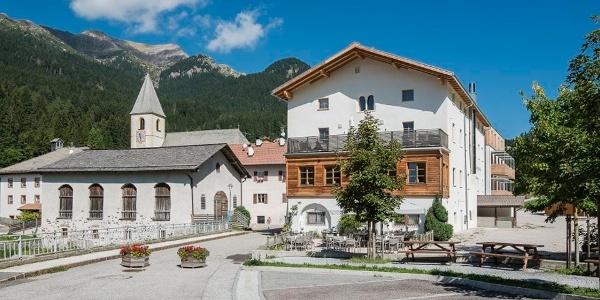 Direkt im Zentrum von Unsere Liebe Frau im Walde befindet sich das Hotel Gasthof zum Hirschen.