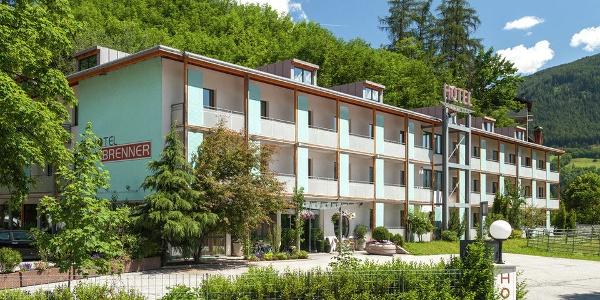 Das Hotel Brenner kurz vor der italienisch-österreichischen Grenze im Norden Südtirols.