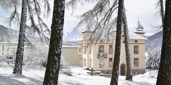Simply stunning: the Hotel Villa Waldkönigin in San Valentino.