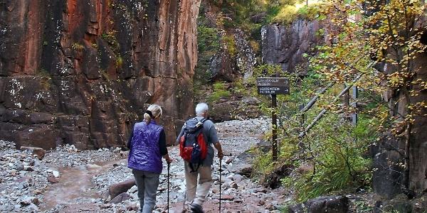 The Rio Bletterbach gorge, a walk through history