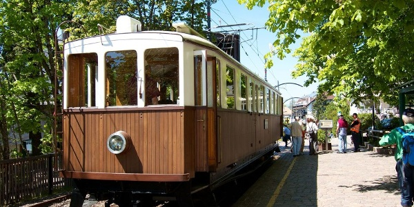 Nostalgic trip back in time. The Renon Railway today.