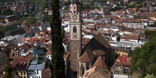 Das größte kirchliche Gebäude Merans