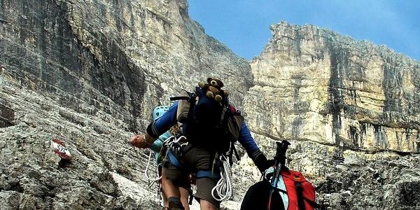 Teamarbeit am Berg ist essenziell