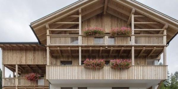 The guest house Ciasa de Lenz in Alta Badia. /