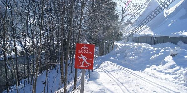 Einstieg vom Aktivpark Montafon