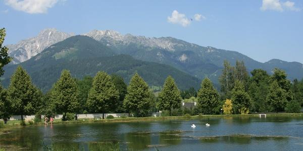 Admont, Stiftsteich