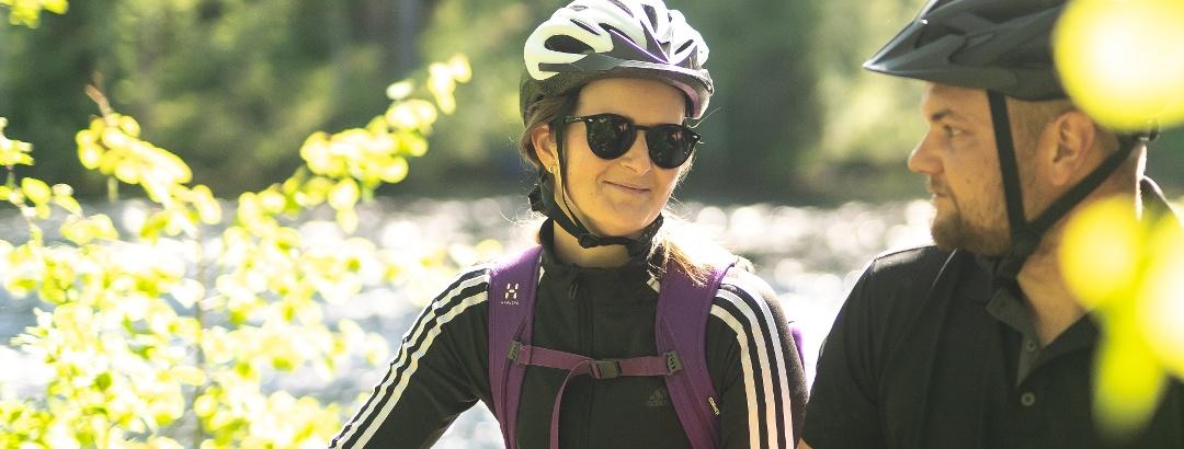 Lieksa offers diverse opportunities for mountain biking